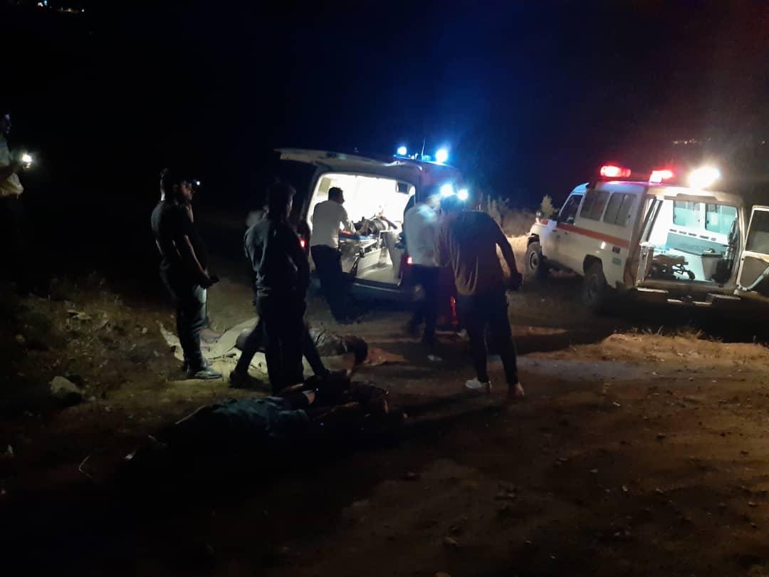 چهار مصدوم در سانحه سقوط خودرو در منطقه چفتان طارم