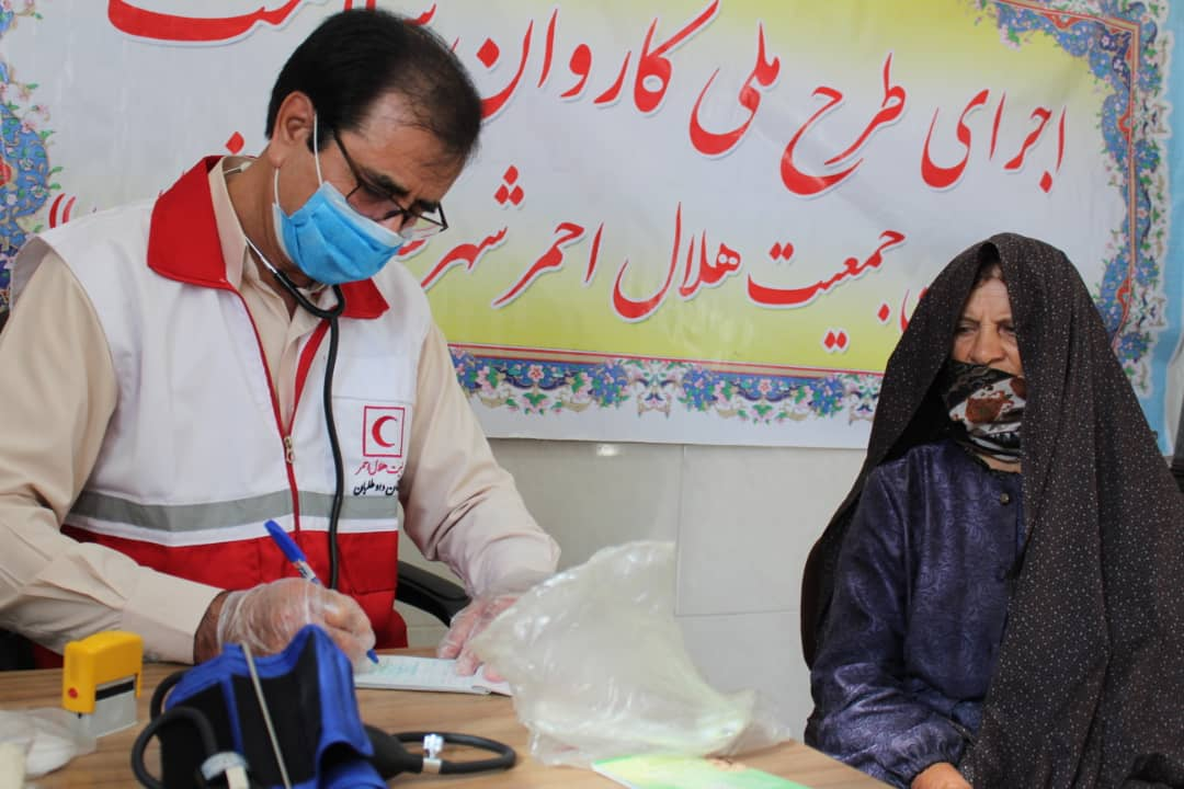 اجرای طرح کاروان سلامت در روستای امام کندی زنجان