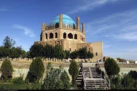 برگزاری مراسم محرم در محوطه تاریخی گنبد سلطانیه